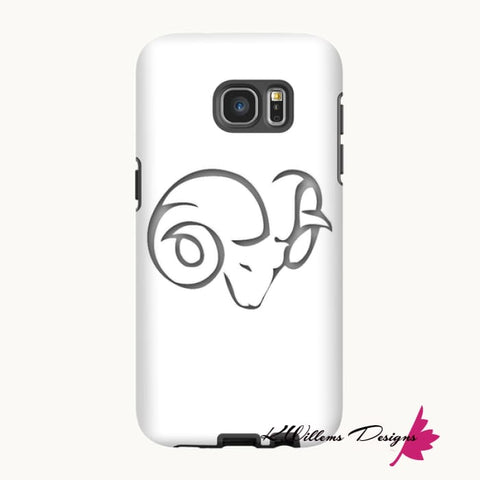 Image of Aries Phone Case - Samsung Galaxy S7 Edge / Premium Glossy Tough Case