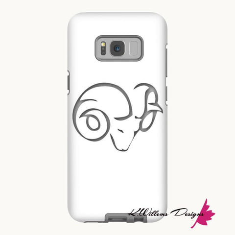 Image of Aries Phone Case - Samsung Galaxy S8 / Premium Glossy Tough Case