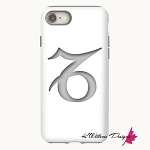 Capricorn Phone Case - iPhone 8 / Premium Glossy Tough Case