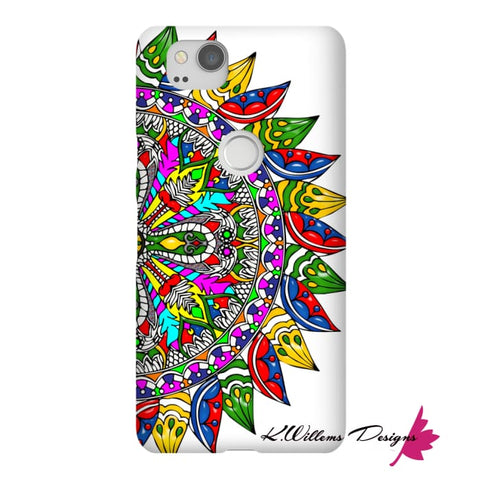 Image of Circle Of Life Mandala Phone Cases - Google Pixel 2 / Premium Glossy Snap Case