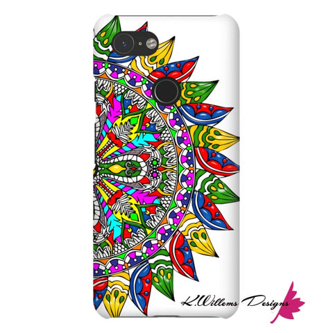 Image of Circle Of Life Mandala Phone Cases - Google Pixel 3 / Premium Glossy Snap Case