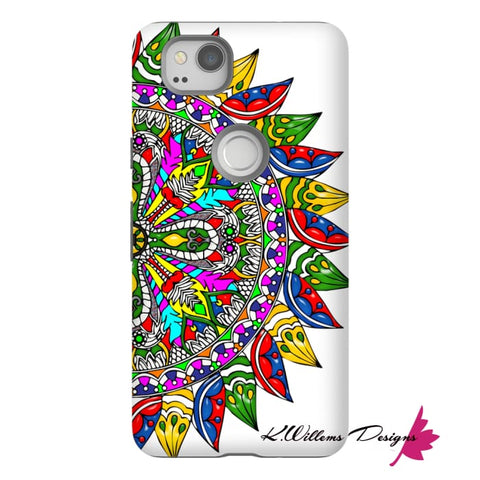 Image of Circle Of Life Mandala Phone Cases - Google Pixel 2 / Premium Glossy Tough Case