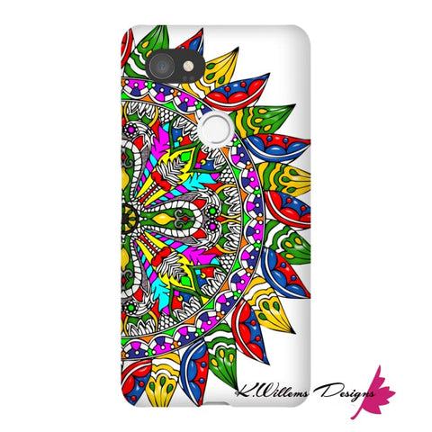 Image of Circle Of Life Mandala Phone Cases - Google Pixel 2 XL / Premium Glossy Snap Case
