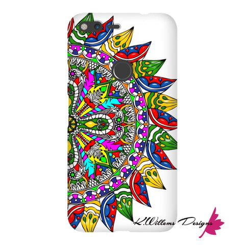 Image of Circle Of Life Mandala Phone Cases - Google Pixel XL / Premium Glossy Snap Case
