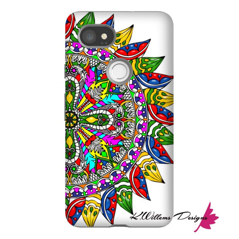 Image of Circle Of Life Mandala Phone Cases - Google Pixel 2 XL / Premium Glossy Tough Case