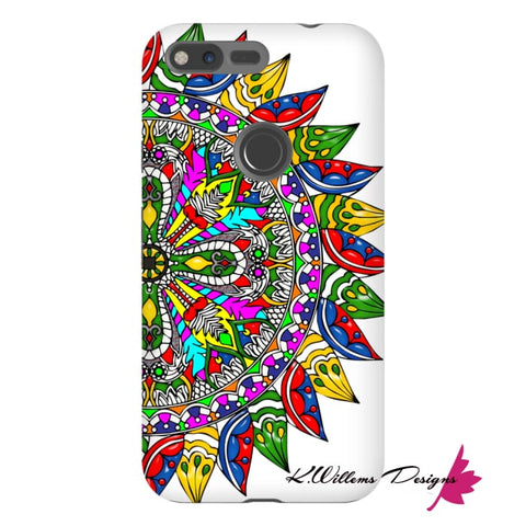 Image of Circle Of Life Mandala Phone Cases - Google Pixel XL / Premium Glossy Tough Case