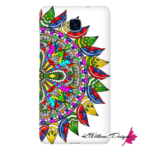 Image of Circle Of Life Mandala Phone Cases - Huawei Honor 5C / Premium Glossy Snap Case