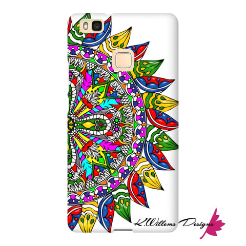 Image of Circle Of Life Mandala Phone Cases - Huawei P9 Lite / Premium Glossy Snap Case