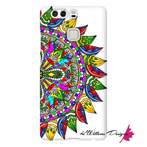 Image of Circle Of Life Mandala Phone Cases - Huawei P9 / Premium Glossy Snap Case