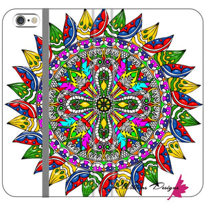 Circle Of Life Mandala Phone Cases - iPhone 6s Plus / Premium Folio Wallet Satin Case