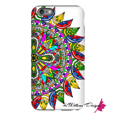 Image of Circle Of Life Mandala Phone Cases - iPhone 6s Plus / Premium Glossy Tough Case