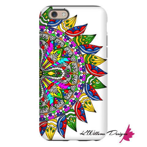Image of Circle Of Life Mandala Phone Cases - iPhone 6s / Premium Glossy Tough Case