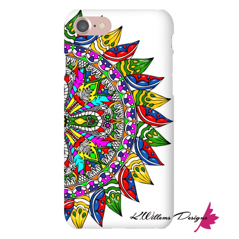 Image of Circle Of Life Mandala Phone Cases - iPhone 7 / Premium Glossy Snap Case