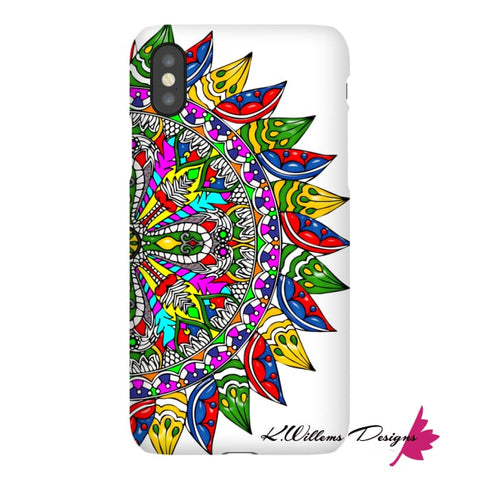Image of Circle Of Life Mandala Phone Cases - iPhone X / Premium Glossy Snap Case