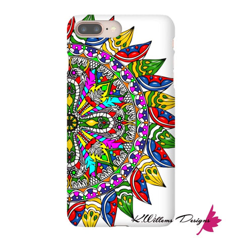 Image of Circle Of Life Mandala Phone Cases - iPhone 8 Plus / Premium Glossy Snap Case