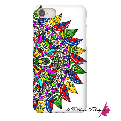 Image of Circle Of Life Mandala Phone Cases - iPhone 8 / Premium Glossy Snap Case