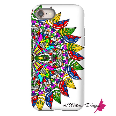Image of Circle Of Life Mandala Phone Cases - iPhone 8 / Premium Glossy Tough Case