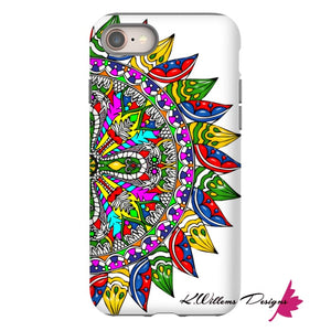 Circle Of Life Mandala Phone Cases - iPhone 8 / Premium Glossy Tough Case