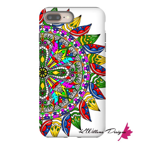 Image of Circle Of Life Mandala Phone Cases - iPhone 8 Plus / Premium Glossy Tough Case