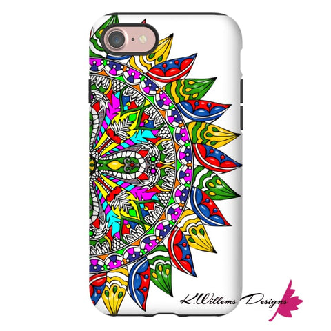 Image of Circle Of Life Mandala Phone Cases - iPhone 7 / Premium Glossy Tough Case