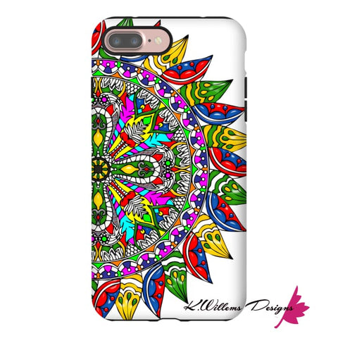 Image of Circle Of Life Mandala Phone Cases - iPhone 7 Plus / Premium Glossy Tough Case