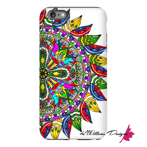 Image of Circle Of Life Mandala Phone Cases - iPhone 6 Plus / Premium Glossy Tough Case