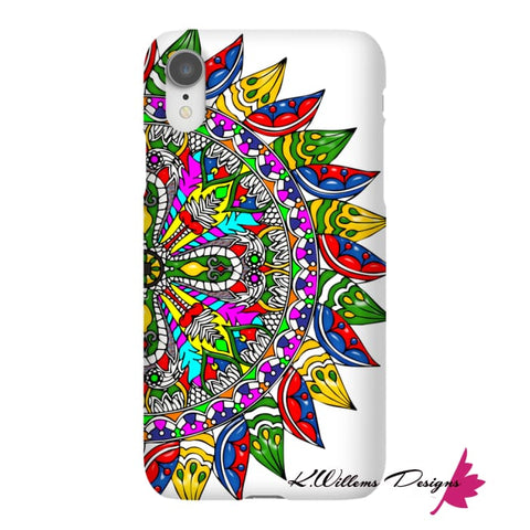 Image of Circle Of Life Mandala Phone Cases - iPhone XR / Premium Glossy Snap Case