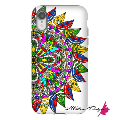 Image of Circle Of Life Mandala Phone Cases - iPhone XR / Premium Glossy Tough Case