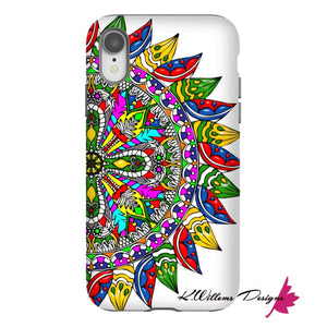 Circle Of Life Mandala Phone Cases - iPhone XR / Premium Glossy Tough Case
