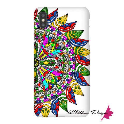Image of Circle Of Life Mandala Phone Cases - iPhone XS Max / Premium Glossy Snap Case