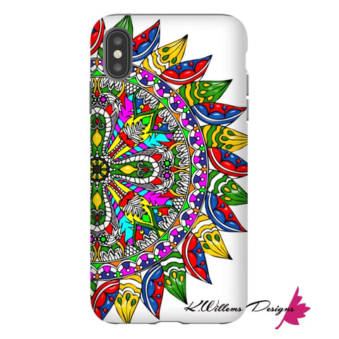 Image of Circle Of Life Mandala Phone Cases - iPhone XS Max / Premium Glossy Tough Case