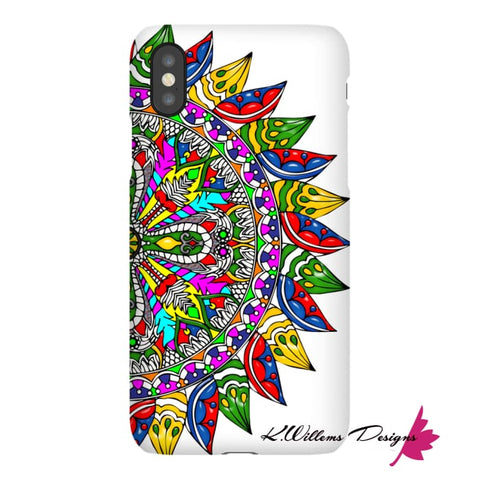 Image of Circle Of Life Mandala Phone Cases - iPhone XS / Premium Glossy Snap Case