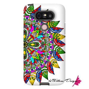 Circle Of Life Mandala Phone Cases - LG G5 / Premium Glossy Tough Case