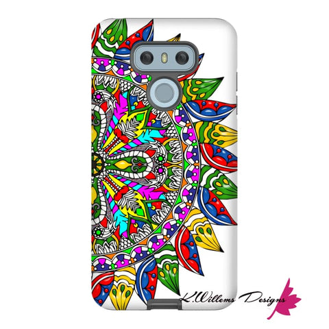 Image of Circle Of Life Mandala Phone Cases - LG G6 / Premium Glossy Tough Case