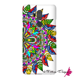 Circle Of Life Mandala Phone Cases - LG G7 / Premium Glossy Snap Case
