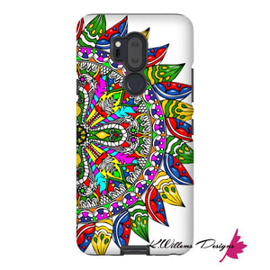 Circle Of Life Mandala Phone Cases - LG G7 / Premium Glossy Tough Case
