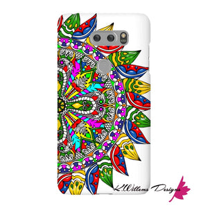 Circle Of Life Mandala Phone Cases - LG V30 / Premium Glossy Snap Case