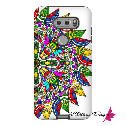 Image of Circle Of Life Mandala Phone Cases - LG V30 / Premium Glossy Tough Case