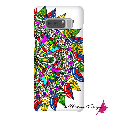 Image of Circle Of Life Mandala Phone Cases - Samsung Galaxy Note 8 / Premium Glossy Snap Case