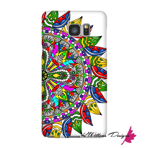 Image of Circle Of Life Mandala Phone Cases - Samsung Galaxy Note 5 / Premium Glossy Snap Case