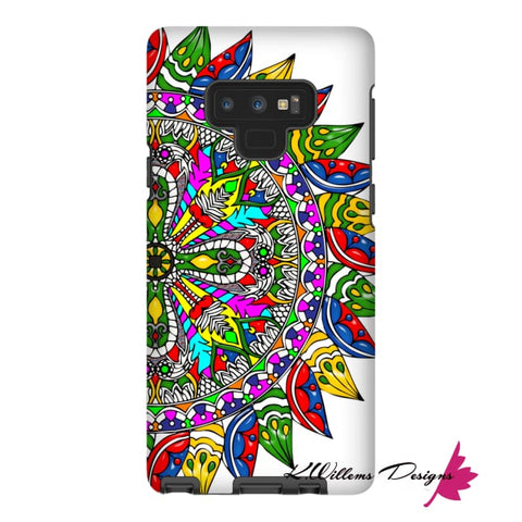 Image of Circle Of Life Mandala Phone Cases - Samsung Galaxy Note 9 / Premium Glossy Tough Case