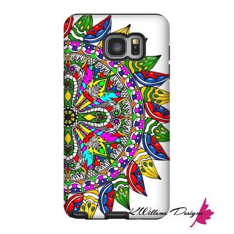 Image of Circle Of Life Mandala Phone Cases - Samsung Galaxy Note 5 / Premium Glossy Tough Case