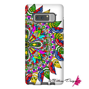 Circle Of Life Mandala Phone Cases - Samsung Galaxy Note 8 / Premium Glossy Tough Case