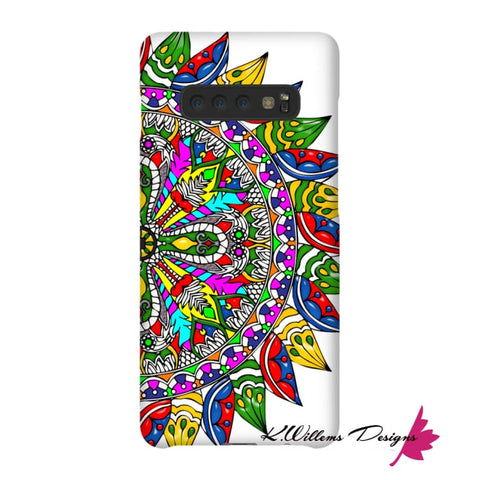 Image of Circle Of Life Mandala Phone Cases - Samsung Galaxy S10 Plus / Premium Glossy Snap Case