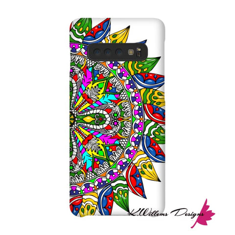 Image of Circle Of Life Mandala Phone Cases - Samsung Galaxy S10 / Premium Glossy Snap Case