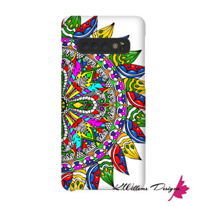 Circle Of Life Mandala Phone Cases - Samsung Galaxy S10 / Premium Glossy Snap Case