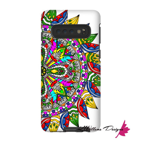 Image of Circle Of Life Mandala Phone Cases - Samsung Galaxy S10 / Premium Glossy Tough Case