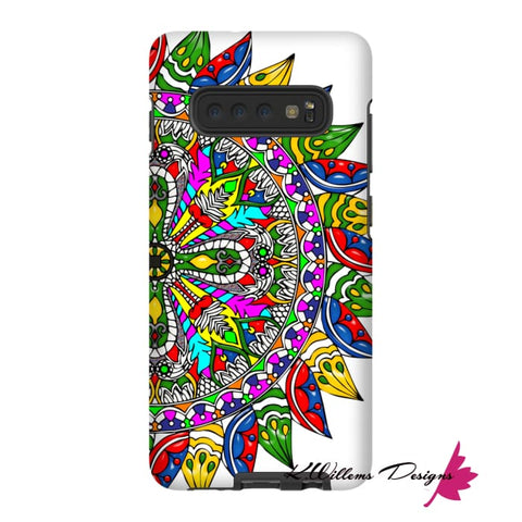 Image of Circle Of Life Mandala Phone Cases - Samsung Galaxy S10 Plus / Premium Glossy Tough Case