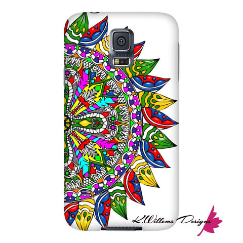 Image of Circle Of Life Mandala Phone Cases - Samsung Galaxy S5 / Premium Glossy Snap Case