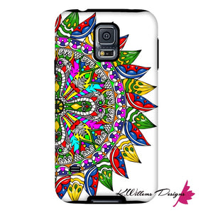 Circle Of Life Mandala Phone Cases - Samsung Galaxy S5 / Premium Glossy Tough Case